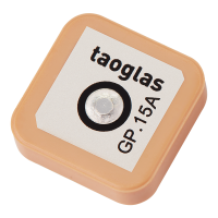 GP.1575.15.4.B.02 GPS/GALILEO 15*15*4mm 1575.42MHz Patch Antenna