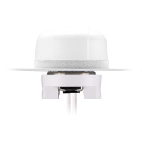 Hercules MA104 White 2in1 GPS/GALILEO & 3G/2G Permanent Mount Antenna Ø48*29mm