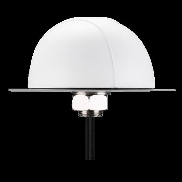 Pantheon MA700 3-in-1 White Permanent Mount GPS/GLONASS/Galileo 4G LTE Wi-Fi Antenna Ø145*82mm