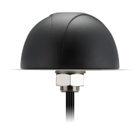 The MA760 4in1 antenna is an omnidirectional heavy-duty, fully IP67 waterproof external M2M antenna for use in telematics, transportation and remote monitoring applications. It is the first antenna on the market to combine 4in1 that includes two LTE MIMO elements, one 2.4GHz/5GHz antenna and GPS/GLONASS/GALILEO in the highest efficiency and peak gain possible. This unique antenna delivers powerful MIMO antenna technology for LTE while also fully compatible with legacy 3G and 2G networks worldwide, plus GPS/GLONASS/GALILEO for next generation high bandwidth telematics systems. New fleet management and mobile and fixed video technology allows for real-time video uplink and downlink. High efficiency, high gain MIMO antennas are necessary to achieve the high signal to noise ratio and throughput required to solve these challenges. The Pantheon MA760 consists of two Cellular 4G/3G/2G MIMO elements working at 698-960MHz, 1710-2170MHz, 2300~2700MHz, 2900-3500MHz which means it can work worldwide, one high gain GPS/GLONASS/GALILEO antenna at 1575.42 MHz and one dual-band Wi-Fi 2.4GHz/5GHz antenna. The 4 high efficiency and gain antennas are mounted in an extremely robust IP67 direct mount antenna package with excellent isolation (20dB+). The antenna has its own ground-plane and can radiate on any mounting environment like metal or plastic without affecting performance. The GPS/GLONASS/GALILEO antenna has a front end SAW filter configuration. The front-end SAW increases protection against out of band LNA burn out. The Dual-band Wi-Fi antenna has stable efficiency and peak gain on both bands even at 3 meters cable length where other antennas would have marked reduced performance. The connectors and cable lengths are customizable. The housing is also available in White. Recommended maximum cable length is 3 meters.