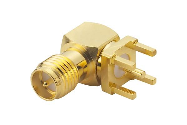 RP-SMA RA PCB Connector