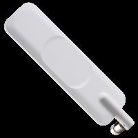 Apex II TG.35 White Wideband 4G LTE Dipole Terminal Antenna Hinged SMA(M)