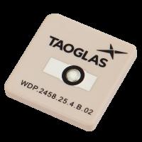 25*25*4mm WDP.2458.25.4.B.02 2.4/5.8GHz Ceramic Patch Antenna