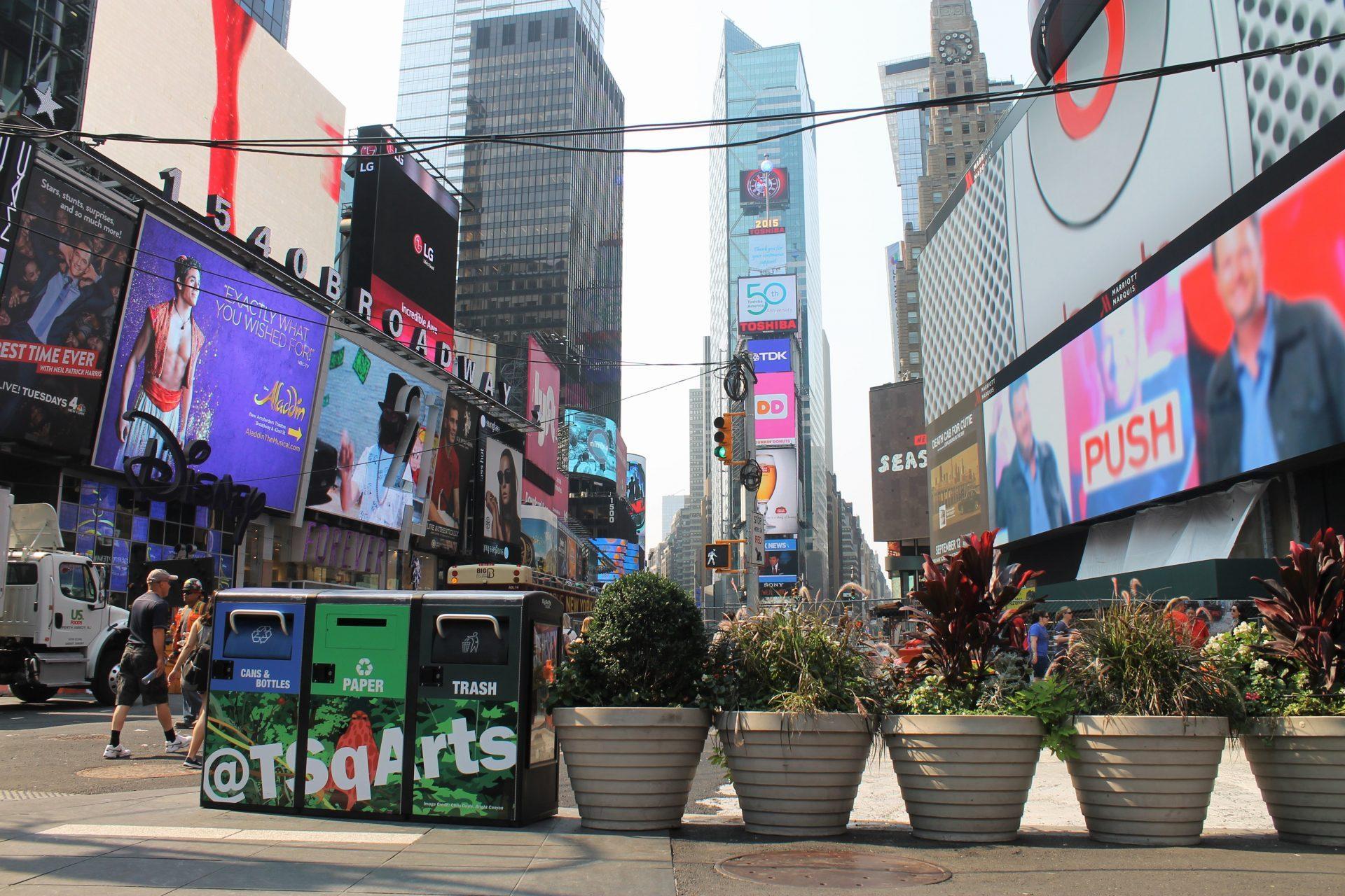 BB5 Triple - Times Square, NYC - Wraps
