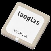 SGGP.25.4.A.02 GPS / GLONASS / GALILEO 25 * 25 *4毫米SMD贴片安装