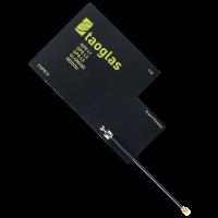 FXP612 Flexible Polymer GPS L1, L2, L5/ GALILEO / GLONASS/ BeiDou Antenna 76*47*0.15mm, 95mm 1.13