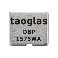 DBP.1575.W.A.30 Dielectric Band Pass Filter for 1575MHz 5.8*5.1*2.8mm, Bandwidth 10MHz