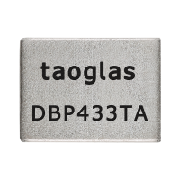 DBP.433.T.A.30 应用于433MHz的介质带通滤波器