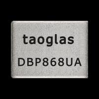 DBP.868.U.A.30 应用于868MHz的介质带通滤波器