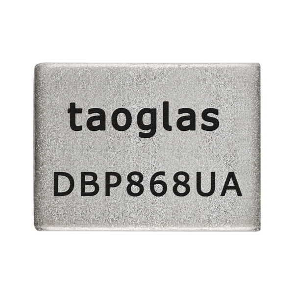 DBP.868.U.A.30 Dielectric Band Pass Filter for 868MHz