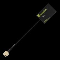 AccuraUWB FXUWB10.01 3-10GHz超宽带(UWB)的Flex天线100mm的1.37毫米&SMA(M)