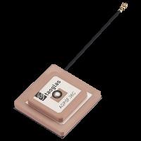 AGPSF.36C.07.0100C有源GPS L1 / L2薄型层叠贴片天线100mm的1.37和IPEX MHFHT(U.FL COMP)