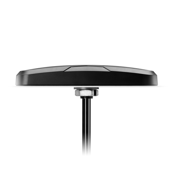 Monsoon MA172.A.LBC.001 - Monsoon 3 in 1 GNSS, Dual-Band Wi-Fi & LTE Low Profile Permanent Mount Antenna