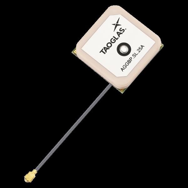 AGGBP.SL.25A - GPS/GLONASS/Galileo/BeiDou 25mm Active Patch with SAW/LNA