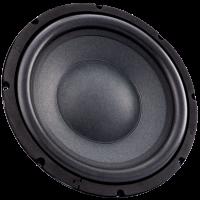 4 Ohm 10 Inch Round Subwoofer Speaker 80W