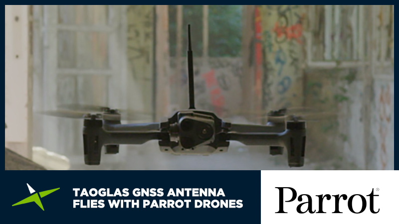 Image for 案例分析: 陶格斯 GNSS 天线与 Parrot 无人机一起翱翔